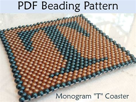 seed bead letter patterns 120 best images about beading alphabet on