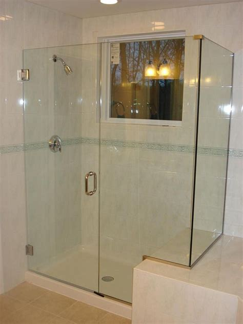 bathroom shower glass door price