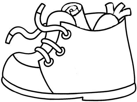 imagenes de zapatos infantiles para colorear san nicolas calzado conjunto dibujos para colorear