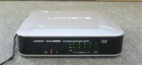Router Cctv cisco rvs400 v2 4 port gigabit security router networking with vpn