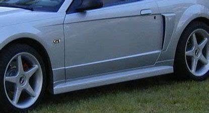 99 04 mustang side skirts 99 04 mustang roadster 2005 conversion side skirts