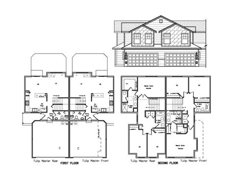 Simple Duplex Floor Plans Small Home Decoration Ideas Simple Duplex House Plans