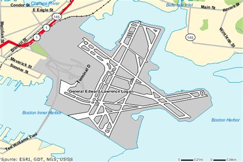 boston logan airport map massport boston boat