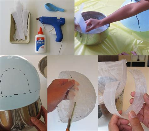 How To Make Paper Igloo - bookhoucraftprojects project 96 vellum paper mache igloo