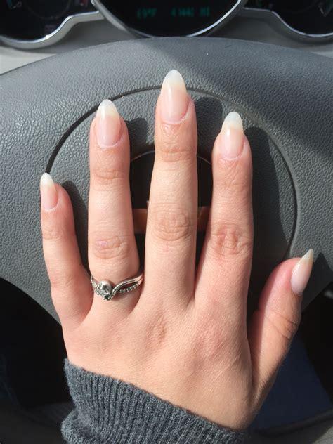 Nail For Medium Nails by Almond Shape Look Opi Bath Nail