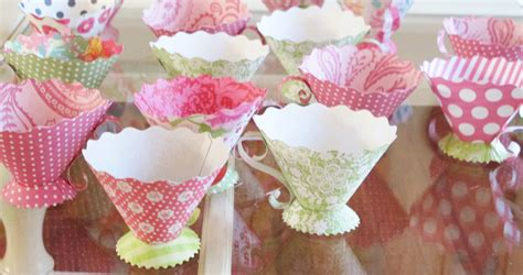 How To Make Paper Tea Cups - inspire co paper teacups
