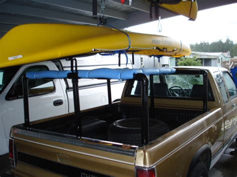 Diy Ladder Rack Truck by Truck Bed Kayak Rack Ford F150 Cer Shell Truck