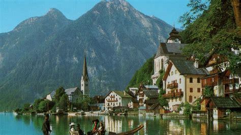 Custom Design Homes by Hallstatt Village Austria Hd Desktop Wallpaper Instagram