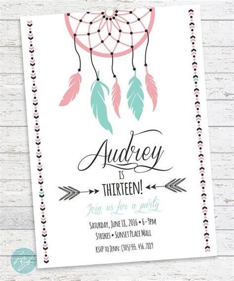 25 best ideas about teen birthday invitations on