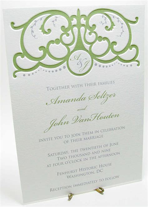 wedding invitations wording in italian italian gate wedding invitation digby invitations dc