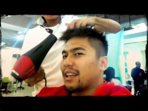 tutorial mencatok rambut yang benar cara memotong rambut pria yang benar youtube