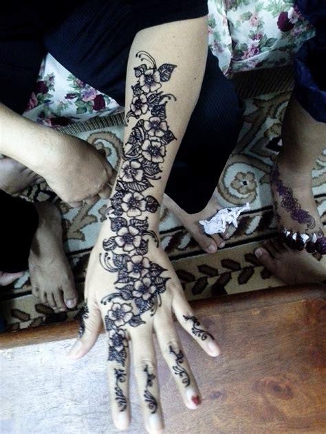 design henna kahwin inai pengantin andaman dan solekan di klang selangor