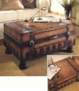 Trunk Like Coffee Table World Map Trunk Coffee Table