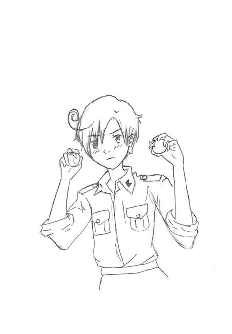 hetalia coloring pages sketch coloring page