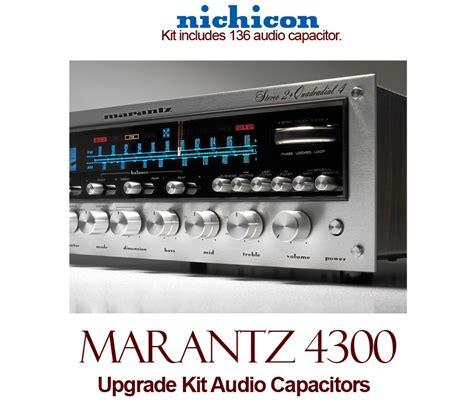 capacitor review audio marantz 4300 upgrade kit audio capacitors