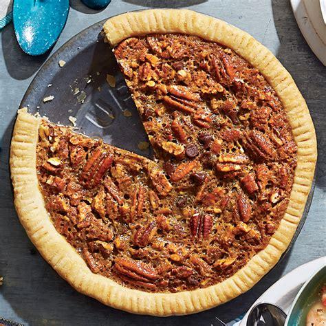 chocolate bourbon pecan pie recipe myrecipes