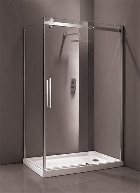 1400 shower door mere bravo 1400mm 8mm thick glass sliding frameless shower
