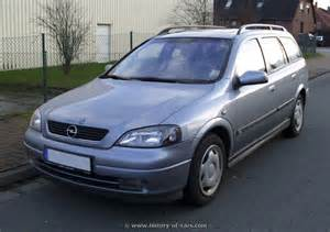 Opel Astra G 2004 Opel 2002 Astra G Caravan The History Of Cars