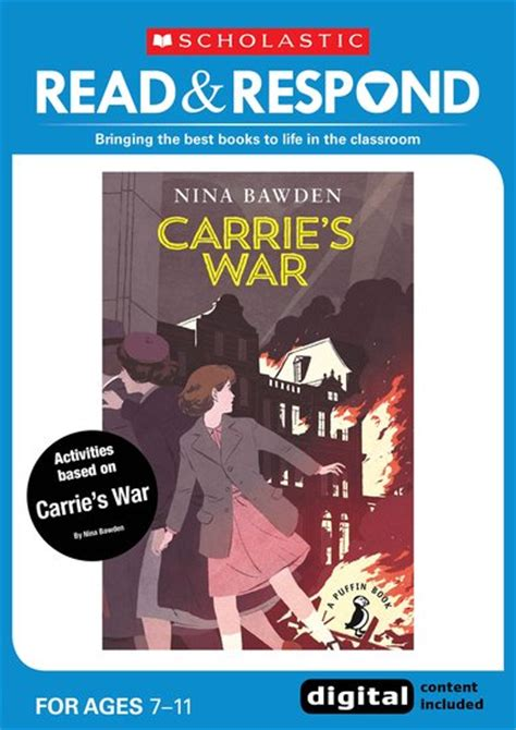 carries war a puffin read respond carrie s war scholastic shop