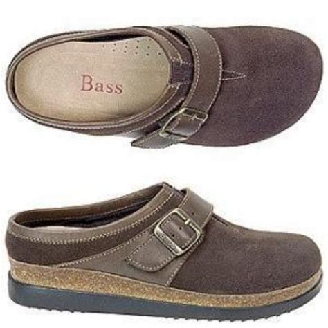 bass clogs for womens new bass clogs delyse shoes size 11m brown suede