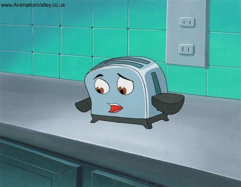 Original Brave Toaster the brave toaster production cel by animationvalley on deviantart