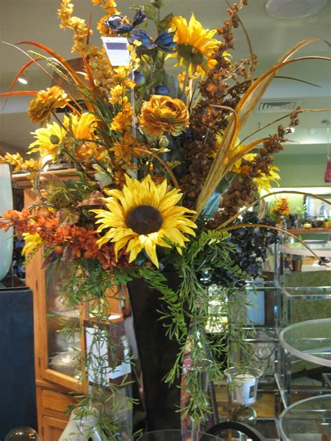 sunflower arrangements ideas beautiful silk sunflower arrangement floral ideas