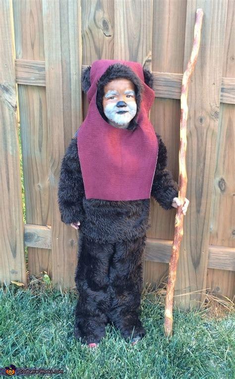 homemade ewok costume  boys