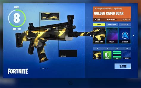 fortnite intel concept advanced weapon customization fortnite intel