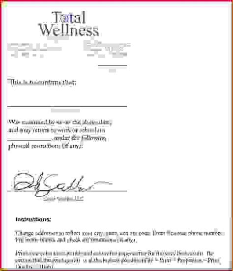 10 how to make a fake doctors note for workagenda template