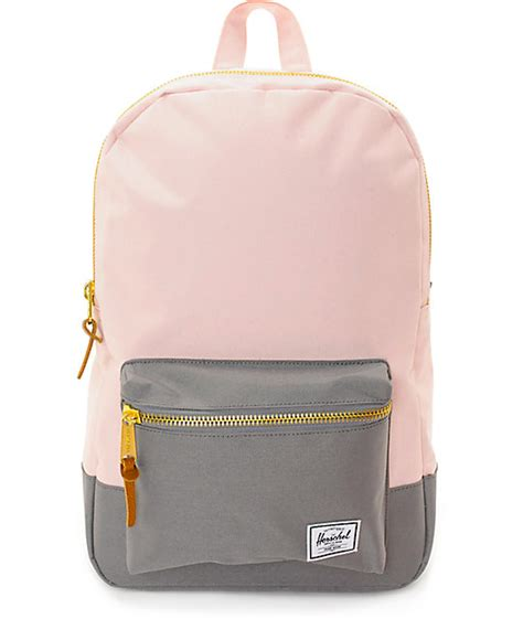 Herschel Supply Co Settlement Mid Cloud Pink Grey 17l