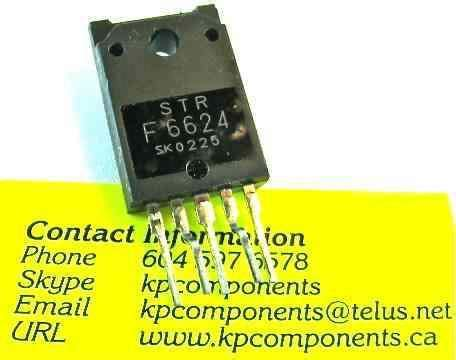 Str Regulator Tv Sharp strf6624 str f6624 regulator ic for jvc kp components inc