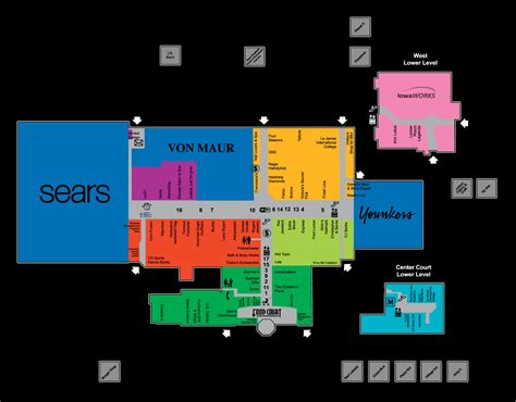 destiny usa map destiny usa mall map images