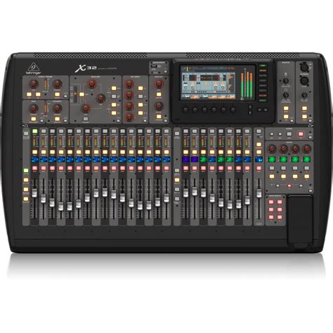 Behringer 16 Channel Digital Mixer behringer x32 32 channel 16 mix console avsuperstore
