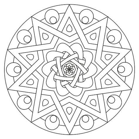 imagenes mandalas para colorear e imprimir m 225 s de 1000 ideas sobre mandala para imprimir en pinterest