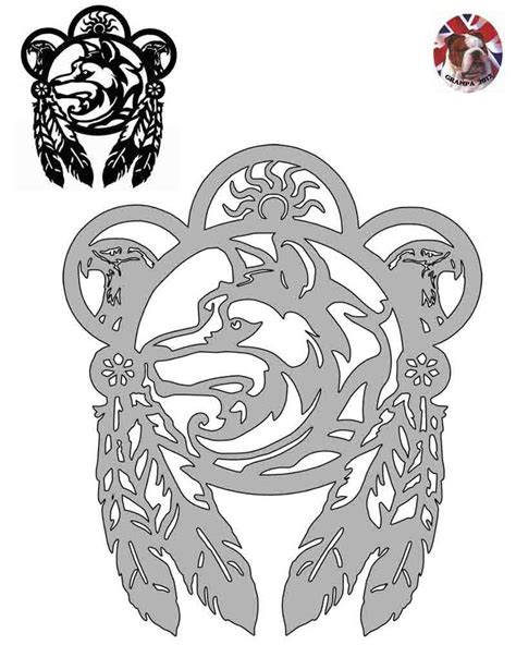 Printable Scroll Saw Templates Woodworking Projects Plans Scroll Saw Designs Templates
