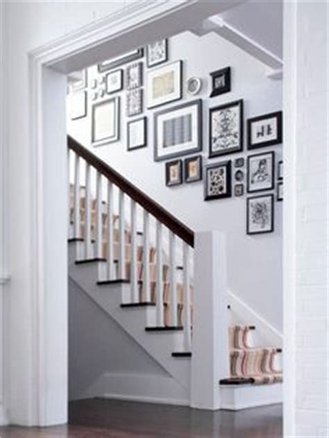Up The Stairs Wall Decor by Stairwell Arrangement We So Many Pics I