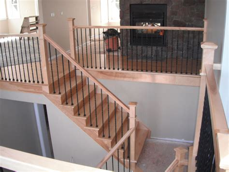 Square Stair Spindles Stairway Picture Gallery Staircase Style Square