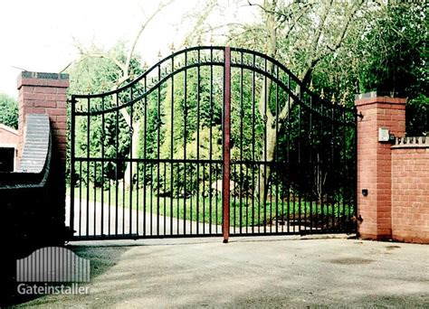 swinging gates for driveways driveway swing gates estate gate