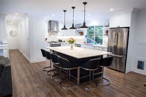 kitchen island chairs novero homes and renovations