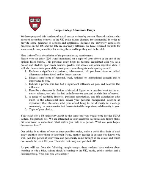 fantastic college application resume format college admission essay format exles bamboodownunder