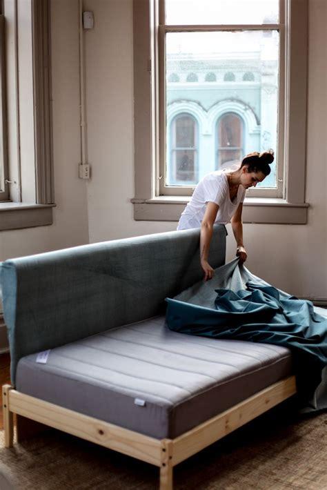 diy sofa mattress diy ikea hacks 5 easy steps to your own ikea