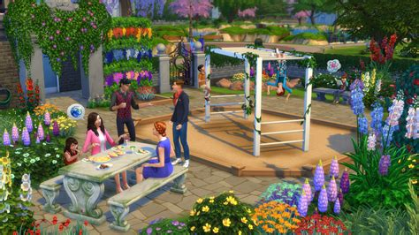 Garden Stuff Community Is In The Air With The Sims 4