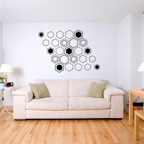 le motif hexagone en decoration dinterieur  idees