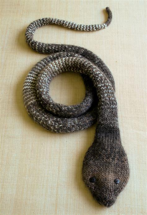 snake scarf knitting pattern animal scarves to knit free patterns grandmother s