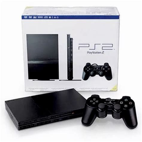 console playstation 2 used black playstation 2 console slim ps2 bundle lot