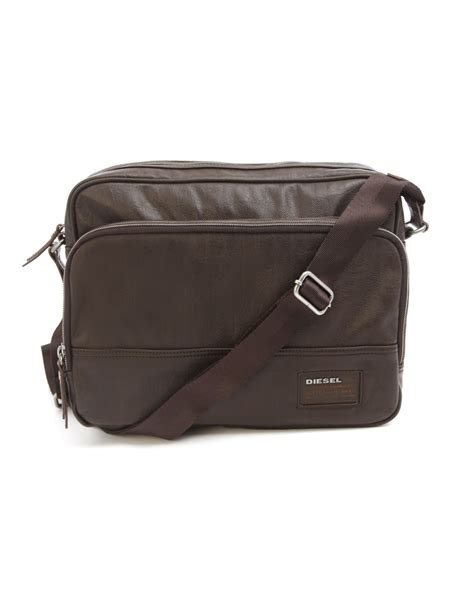 Diesel Bag by Diesel Blast Brown Messenger Bag In Brown For Lyst