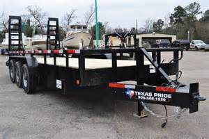 Truck Accessories In Conroe Tx 2016 Pride Lowboy Equipment Trailer 21k Bumper Pull