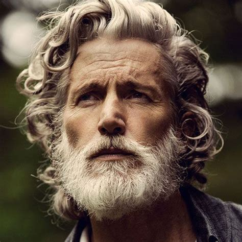 mens curly grey hairstyles best hairstyles for older men long hairstyle men