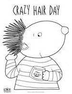 Crazy Hair Day Coloring Sheet Coloring Pages