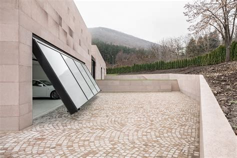 Garage Design gallery of slight slope long house i o architects 13